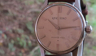 A Rare & HIGHEST of grade the famous KING SEIKO 25 jewels VintageFor MENS