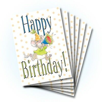 Suzy's Zoo Happy Birthday Card 6-pack 10299
