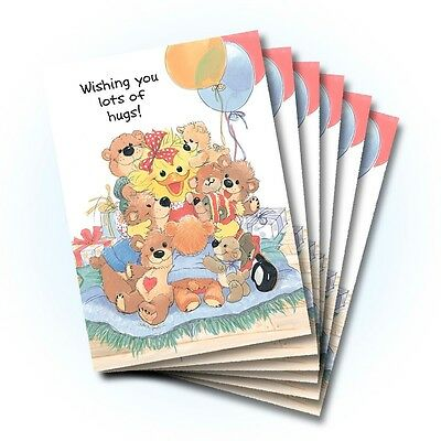 Suzy's Zoo Happy Birthday Card 6-pack 10302