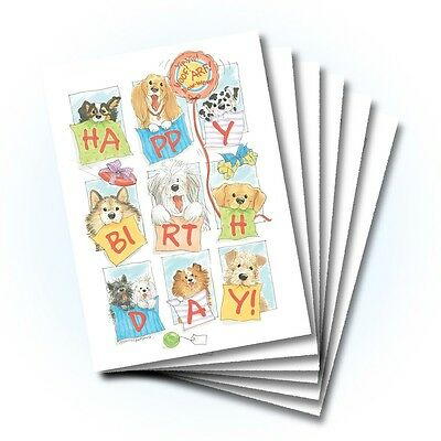 Suzy's Zoo Happy Birthday Card 6-pack 10321