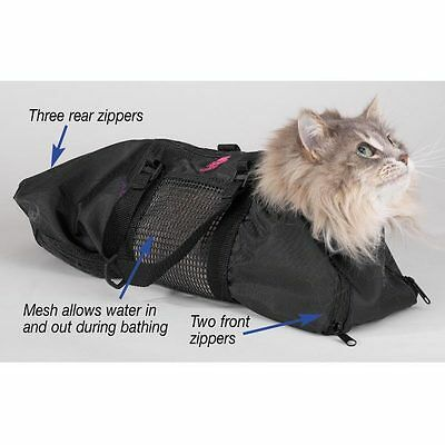 Cat Groomers Bathing & Bag Nail Claw Grooming - Small Size - Hold Kitten - Pet