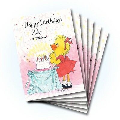 Suzy's Zoo Happy Birthday Card 6-pack 10327
