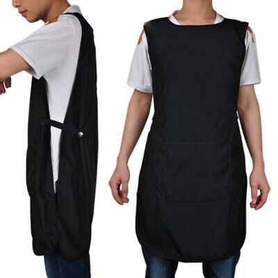 Salon Hairdressing Hair Cutting Apron Front-Back Cape Cloth Barber Hairstylist