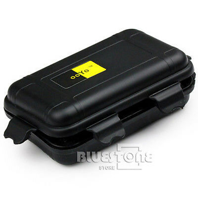 Plastic Waterproof Airtight Case Fly Fishing Container Storage Travel Box Case
