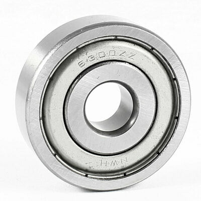 35mm x 10mm x 11mm Metal Sealed Single Row Deep Groove Ball Bearing 6300ZZ