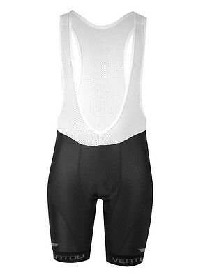 Ventou Pro Bib-Shorts (cycling knicks)- Black (RRP $145)