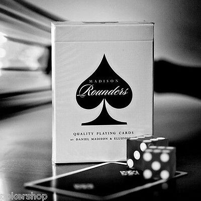Carte Bicycle Madison Rounders Black by Ellusionist