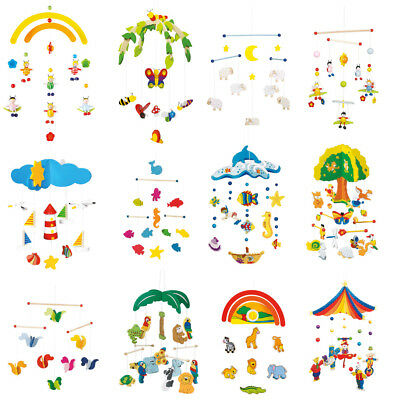 Baby Wooden Mobile new for Cot and Nursery Decoration - Original Goki Product