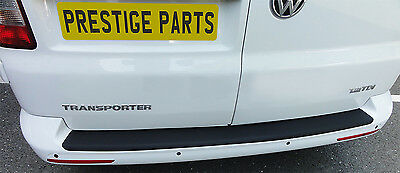 VW Transporter T5 T6 rear bumper BLACK self adhesive paint protection film