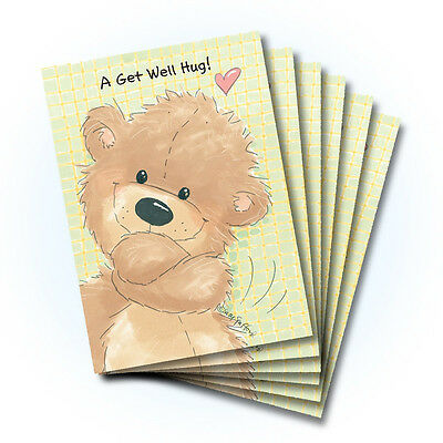 Suzy's Zoo Get Well Greeting Card 6-pack 10265