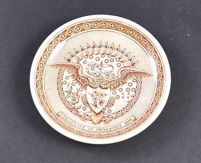 """Alfred Meakin Fair Winds Coaster 4 1/4"""" Plates Staffordshire Chinese Export Y24"""