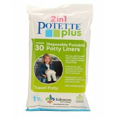 Potette PLUS On the Go Potty Chair Liners 30 Liners
