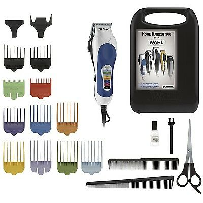 Wahl Color Pro 20 Piece Hair Clipper Professional Quality  NEW FREE SHIPPING