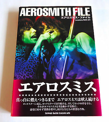 AEROSMITH File JAPAN RARE BOOK 2004 w/OBI Steven Tyler Joe Perry Brad Whitford