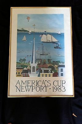 America's Cup Poster 1983