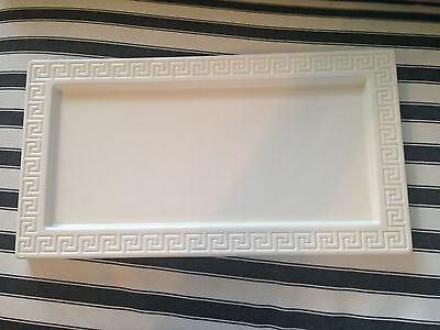 Jonathan Adler Happy Home Greek Key Ceramic Tray