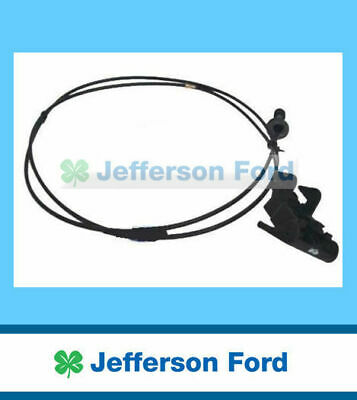 Genuine Ford Falcon Ba Bf Mk2 Revised Bonnet Release Cable Cord + Handle Updated