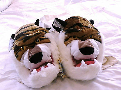 Tiger slippers one size fits all