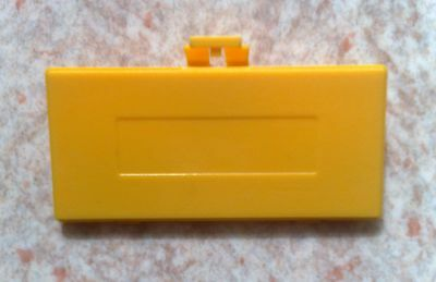 Cache Pile Jaune - NEUF - pour Game Boy Pocket - Gameboy GBP - Battery cover