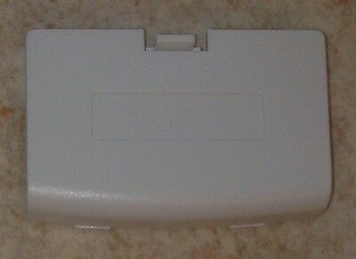Cache Pile Blanc Arctic - NEUF - Game Boy Advance - Gameboy GBA - Battery Cover