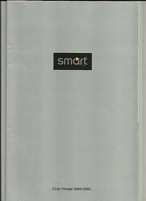 Smart City-Coupe Pure Pulse And Passion Sales Brochure 2000 2001