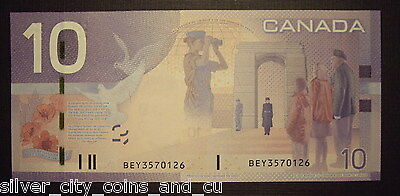Canada BC-68aA $10 Replacement Note BEY3570126 - ChUnc