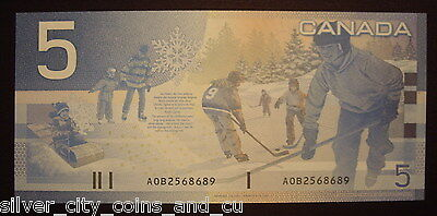 Canada BC-62aA $5 Replacement AOB2568689 -  ChUnc