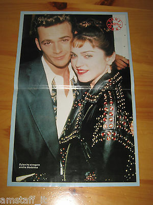 # POSTER MADONNA + DYLAN McKAY BEVERLY HILLS LUKE PERRY =47X29 CM.=PHOTO=FOTO=