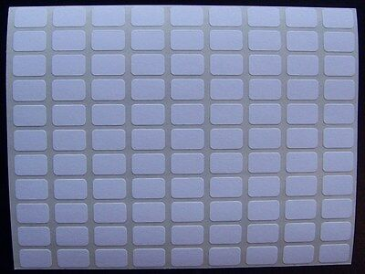 "500 All Purpose Removable Adhesive Price Labels Tags Stickers Square 5/16""x1/2"""