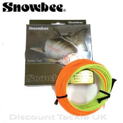 Snowbee Xs-Tra Distance Wf Floating 5 6 7 8Fly Line Exd