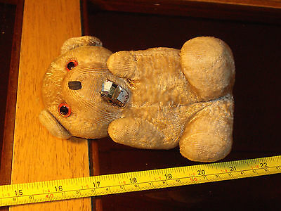 Antique Teddy BEAR Tape Measure Mouth Very Rare