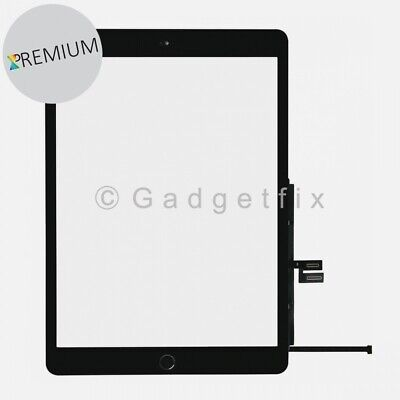 US For Ipad 7 7th Gen 2019 10.2 Touch Screen Digitizer + Home Button + Adhesive