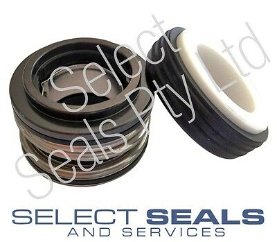 "Davey Xcelsior Spa Pump Shaft Mechanical Seal 1/2"" shaft size Carbon vs ceramic"
