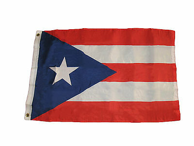 2x3 Puerto Rico SuperPoly Flag 2'x3' House Banner Brass Grommets