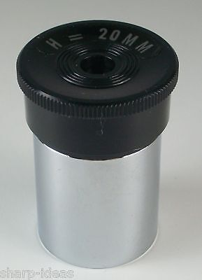 "Astro Optics 20mm .965"" Telescope Eyepiece - NEW"