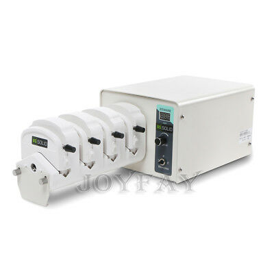 Peristaltic Pump 0.07-2280 ml/min per Channel 4 Channel Basic Type U.S. Solid®