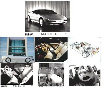 MG EX-E Concept Car x 7 Original Press Photographs some in colour
