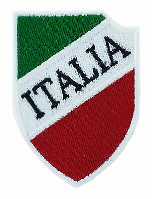 AUFNÄHER Patch Aufbügler CALCIO Italien SCUDETTO FLAGGEN flagge Fahne backpack