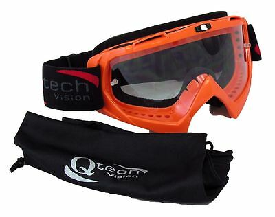 TEAR Off Goggles Motocross Enduro KTM for MX Helmet - ORANGE