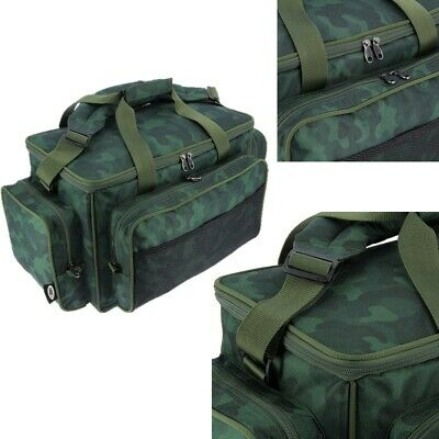 New NGT Camo Green Carp Coarse Fishing Tackle Bag Holdall Excellent quality