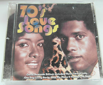 The Marina Soulsters - 70's Love Songs ( CD Album 1999 )  Used very good