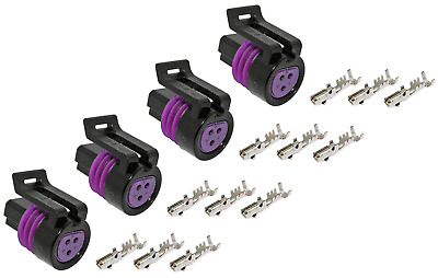 Delphi Packard 3 Pin ( Metri-Pack 150)14 Amps 12078090 ( 2 Pcs & 7 terminals)
