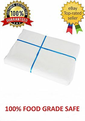 10kg of 800mm x 610mm White Butchers Paper Sheets FREE Post