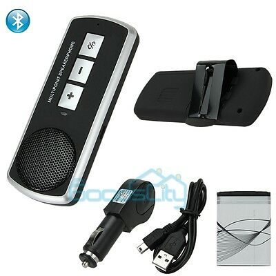 Bluetooth USB Multipoint Speaker for Cell Phone Hands free Car Kit Speakerphone