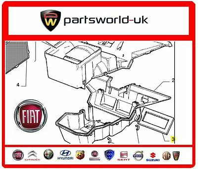Fiat Panda 1986-2003 Lower Foam Heater Box Seal 4412221 New Genuine