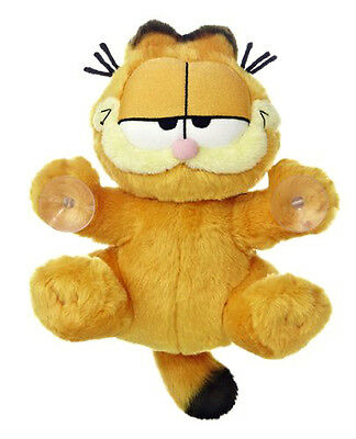 "AURORA GARFIELD JUST CLINGING AROUND WINDOW STICK ON 7.5"" PLUSH SOFT TOY (BNWT)"