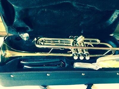 Vincent bach Elkhart 100TR Bb trumpet In Lacquer