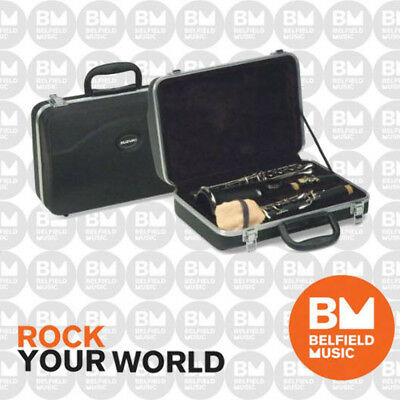Suzuki Bb Clarinet Master Class Student Silver Plated Keys with Road Case - BNIB