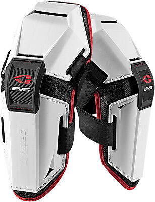 Evs Option Elbow Guards Pads Forearm Motocross Offroad White Mini Opte-M-Wh