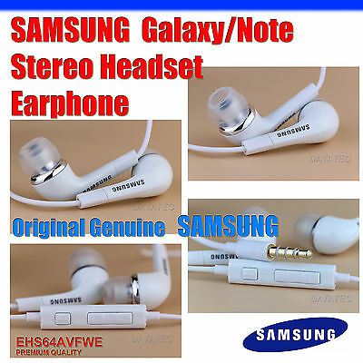 GENUINE Handsfree Headphone Earphone for Samsung Galaxy S3 S4 S5 S6 Note S2 S7